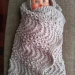 18.- Manta para Samuel en punto de ondas / Waves Blanket for Baby